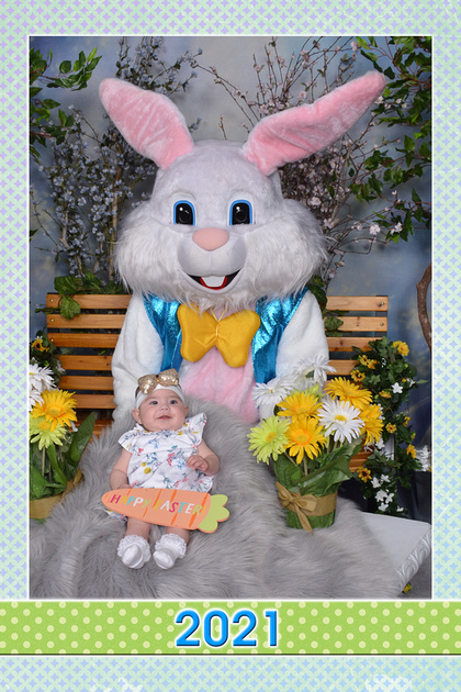 Easter Bunny Baby Sample