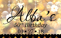 Alba's 50th Birthday
