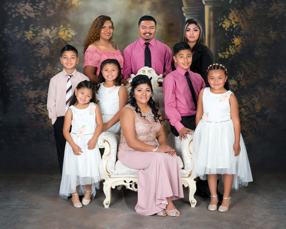 Family Portrait at Viva Photo Studio