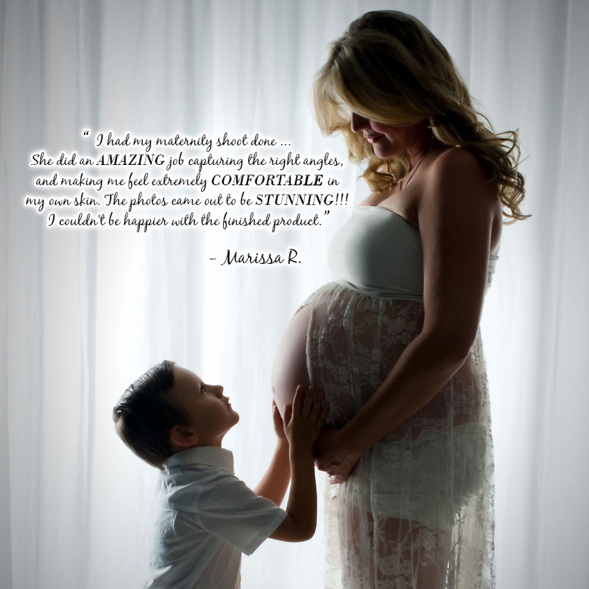 web maternity with quote