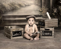 antique-vintage-photography-news-paper-boy-baby